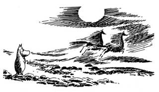 Муми-тролль и морские лошадки