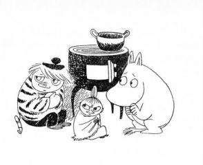 Туу-тикки, Малышка Мю и Муми-тролль