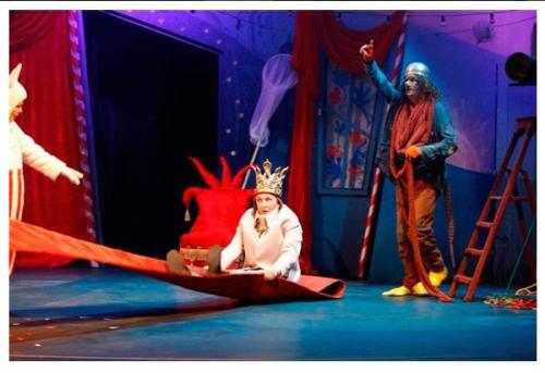 Король в Муми-доле, спктакль