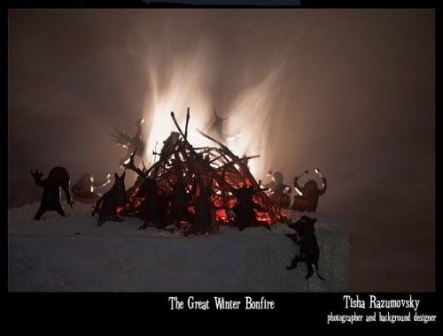The great winter bonfire