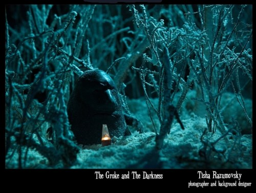 The groke and the darkness