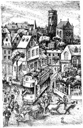 5 Люди и разбойники из Кардамона, иллюстрации, Сказочные повести скандинавских писателей 1987