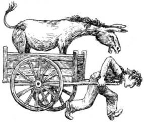 6 Люди и разбойники из Кардамона, иллюстрации, Сказочные повести скандинавских писателей 1987