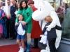 Bjork с дочерью н премьере MOOMINS AND THE COMET CHASE