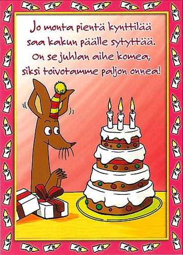Уже можно зажечь маленькие свечки на торте и праздновать свой День рождения! Желаем удачи!