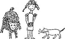 19 Синкен Хопп. Юн и Софус. Иллюстрации